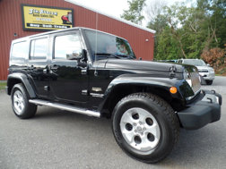 Jeep Wrangler 4WD Unlimited Sahara