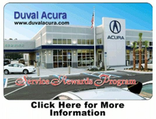 Duval Acura Car Dealership In Jacksonville Fl 32225 2905