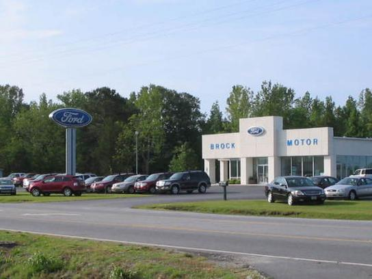 brock motor co car dealership in trenton nc 28585