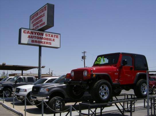 Canyon State Auto >> Canyon State Auto Brokers Inc Car Dealership In Tempe Az 85281