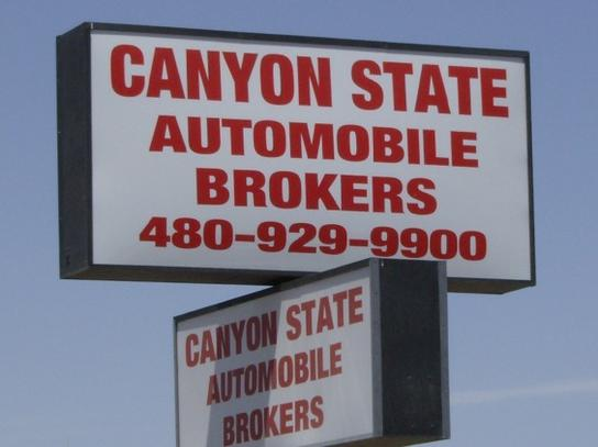 Canyon State Auto Brokers, Inc.