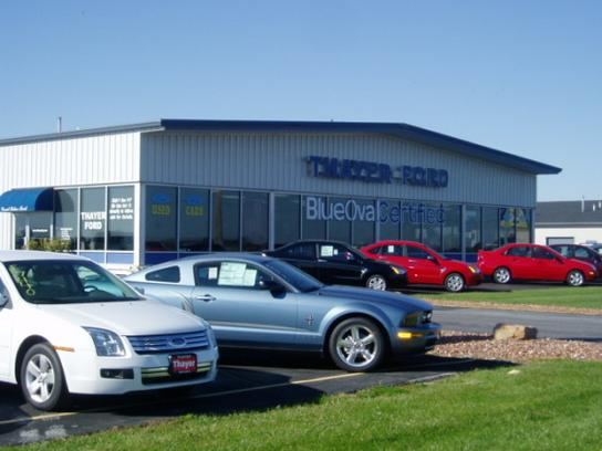 Thayer Ford Nissan Car Dealership In Bowling Green Oh 43402