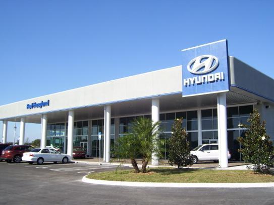 Red Hoagland Hyundai car dealership in Winter Haven FL