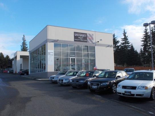University Audi Lynnwood car dealership in Lynnwood, WA 98037 ...