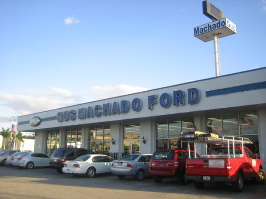 Gus Machado Ford Hialeah >> Car Dealership Specials At Gus Machado Ford Inc In Hialeah