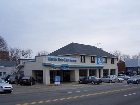 Martin Main Line Honda car dealership in Ardmore, PA 19003 | Kelley
