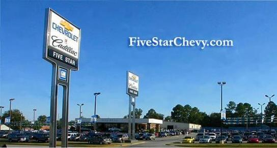 Five Star Chevrolet Cadillac Buick GMC 1 ...