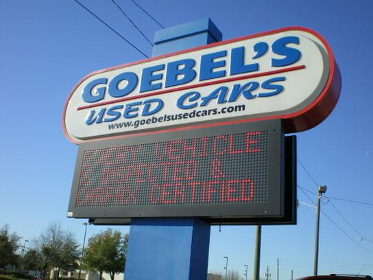 Goebel's Used Cars