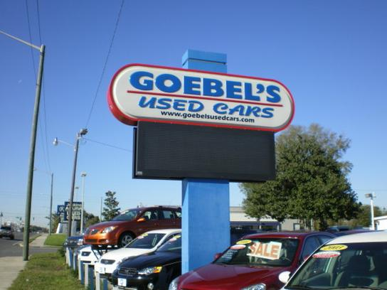 Goebel's Used Cars 1