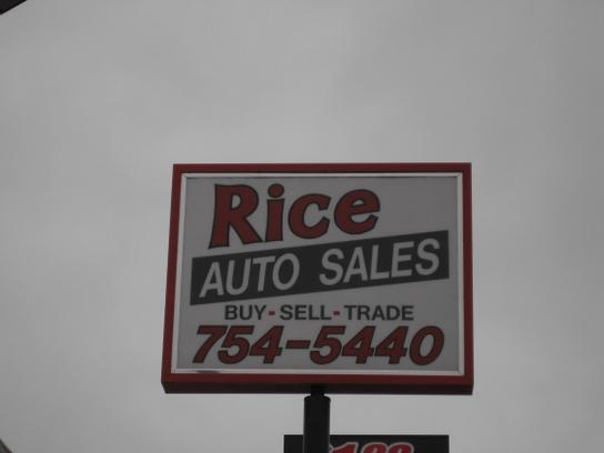 MT's Rice Auto Sales