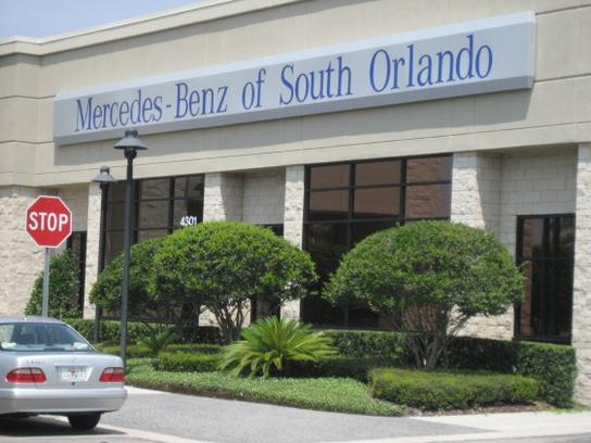 mercedes benz of south orlando car dealership in orlando
