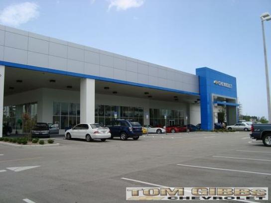 Tom Gibbs Chevrolet Car Dealership In Palm Coast Fl 32164