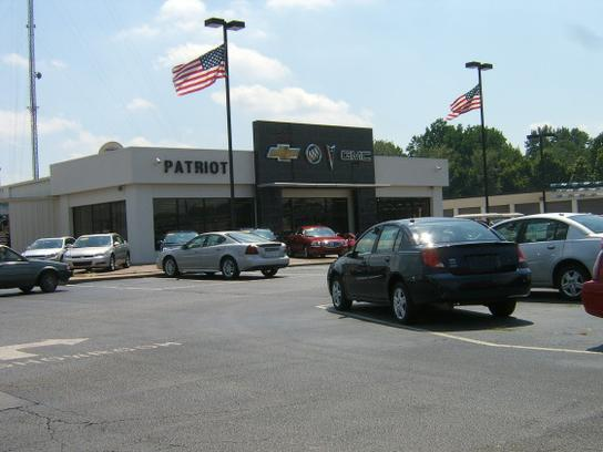 Patriot Chevrolet Buick GMC