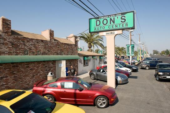 Don'S Auto Center >> Don S Auto Center Car Dealership In Fontana Ca 92335