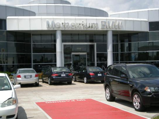 Momentum BMW MINI Southwest car dealership in Houston, TX 77074