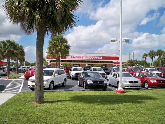 Rob Lambdin's University Dodge RAM car dealership in Davie, FL 33328