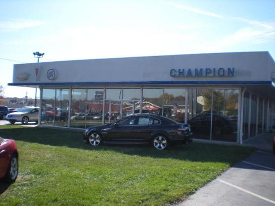 Champion Chevrolet Buick GMC 1