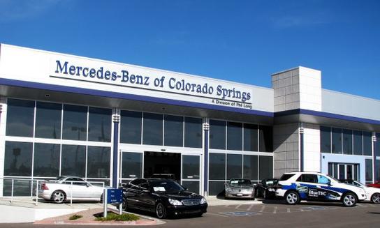 Mercedes Colorado Springs >> Mercedes Benz Of Colorado Springs Car Dealership In Colorado Springs