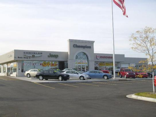 Champion Chrysler Dodge Jeep Ram >> Champion Chrysler Dodge Jeep Ram Car Dealership In Lansing
