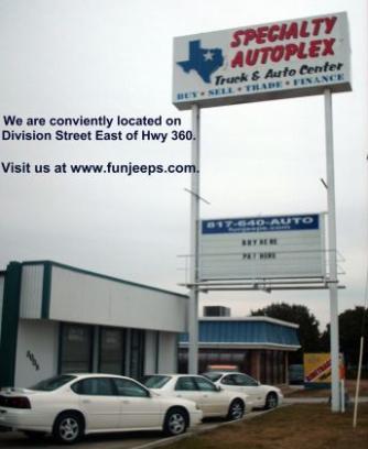 Specialty Autoplex Car Dealership In Arlington Tx 76011 Kelley
