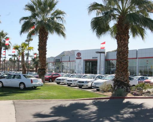 Toyota Of The Desert >> Toyota Of The Desert Car Dealership In Cathedral City Ca