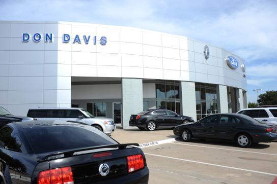 Don davis ford lincoln arlington texas
