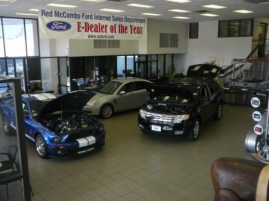 red mccombs ford car dealership in san antonio, tx 78230-3860