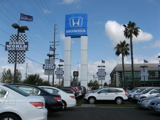 honda world of orange county car dealership in westminster