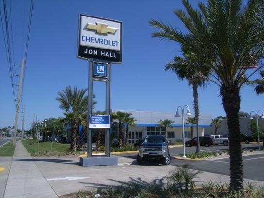 jon hall chevrolet car dealership in daytona beach, fl 32114-1701