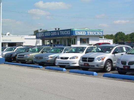 Eriks Chevrolet car dealership in Kokomo, IN 46904 | Kelley