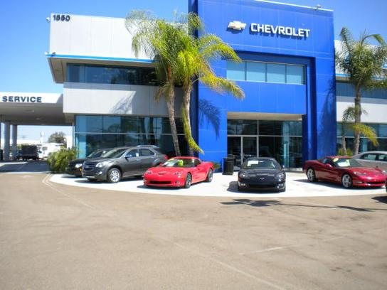 Quality Chevrolet car dealership in Escondido, CA 92029-2059 ...