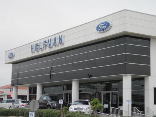 Ford Dealership Houston >> Helfman Ford Houston Southwest Freeway Car Dealership In
