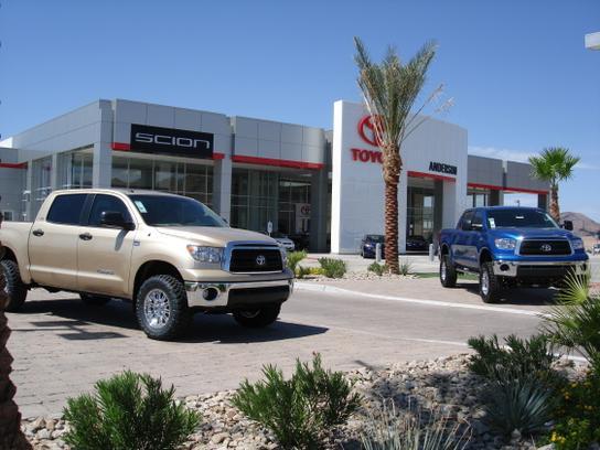 Anderson Toyota Car Dealership In Lake Havasu City Az 86404