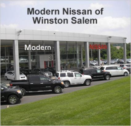 modern nissan car dealership in winston salem nc 27105 kelley blue book. Black Bedroom Furniture Sets. Home Design Ideas