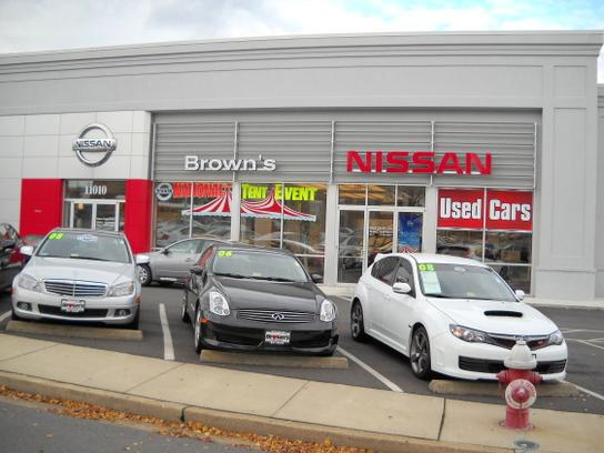 Brown's Fairfax Nissan 1