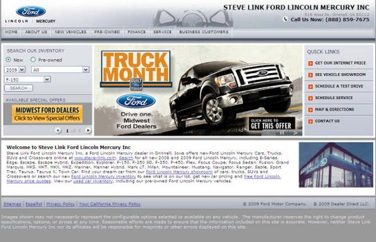 Steve Link Ford Lincoln, Inc. 2