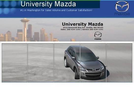 University Mazda car dealership in Seattle, WA 98105   Kelley Blue