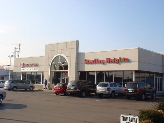 Sterling Heights Dodge Chrysler Jeep 1
