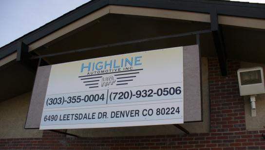 Highline Automotive Inc 1