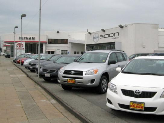 Putnam Automotive Car Dealership In Burlingame Ca 94010