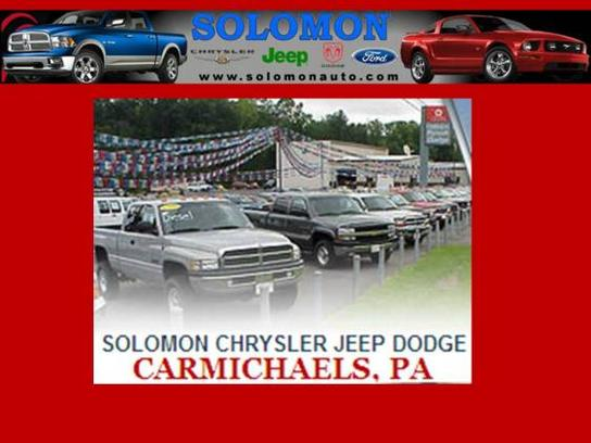 Solomon Chrysler Jeep Dodge-Carmichaels
