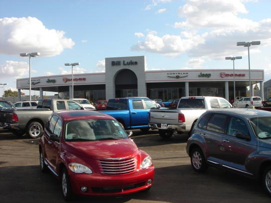 Bill Luke Chrysler Jeep Dodge RAM Car Dealership In Phoenix AZ - Chrysler jeep dodge dealer