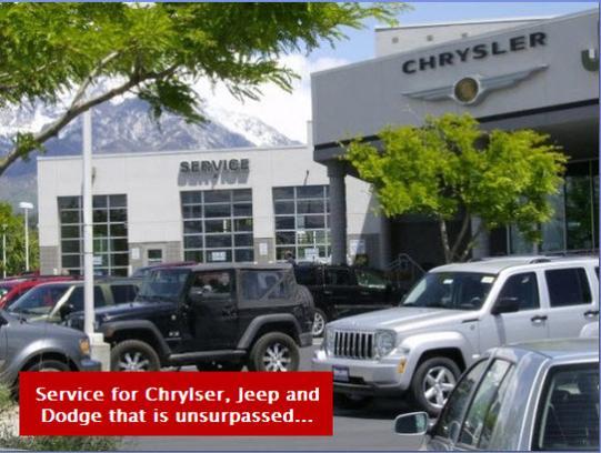 Larry H. Miller Chrysler Jeep Dodge RAM Sandy Car Dealership In SANDY, UT  84070 4162 | Kelley Blue Book