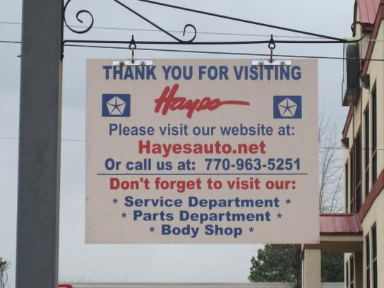 Hayes Chrysler Dodge Jeep 3