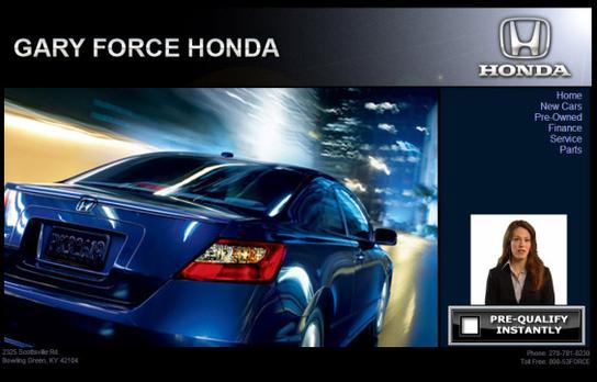Honda Bowling Green Ky >> Gary Force Honda Car Dealership In Bowling Green Ky 42104