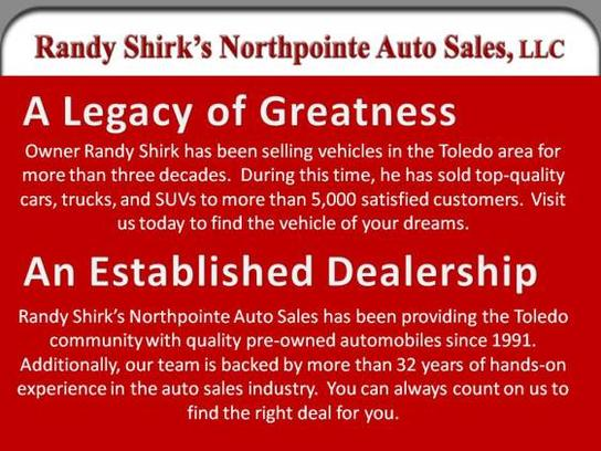 Randy Shirk's Northpointe Auto Sales, LLC 1