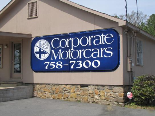 Corporate Motorcars Car Dealership In North Little Rock
