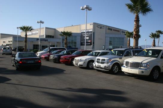 Car Dealerships Las Vegas >> Prestige Chrysler Jeep Dodge Car Dealership In Las Vegas Nv 89149