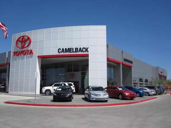 Camelback Toyota Car Dealership In Phoenix Az 85014