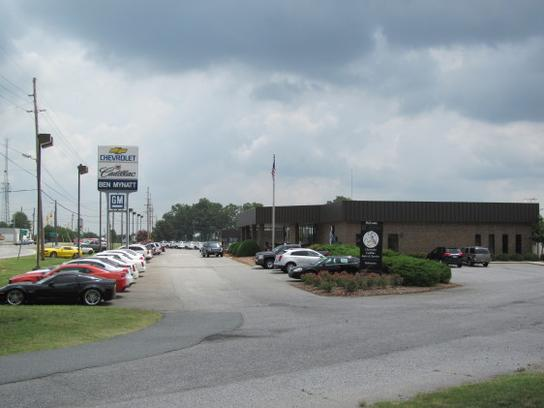 Ben Mynatt Chevrolet Cadillac Car Dealership In Concord Nc 28027